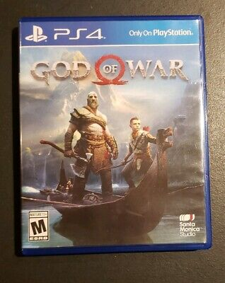 God of War 2018 Ps4 Game Excellent Condition