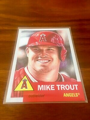 Mike Trout 2019 Topps Living #200⚾Los Angeles LA Angels⚾Free Shipping & Tracking