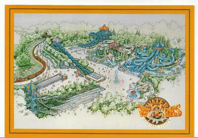 Aerial View,Water Works,Kings Island Theme Park~Kings Island,Oh
