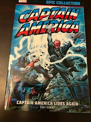 Captain America Lives Again Vol. 1 Marvel Epic Collection TPB Graphic Novel