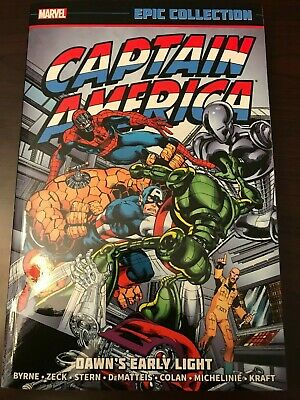 Captain America Dawns Early Light Vol. 9 Marvel Epic Collection TPB