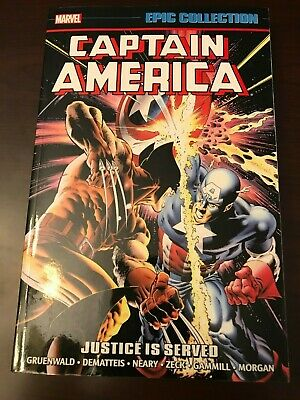 Captain America Justice Is Served Vol. 13 Marvel Epic Collection TPB