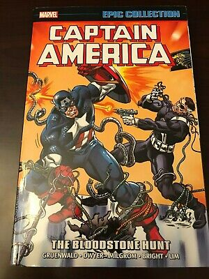 Captain America The Bloodstone Hunt Vol. 15 Marvel Epic Collection TPB