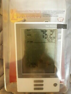 Programmable Floor Warming Thermostat 120Volts, Ground Fault Circuit Interrupter