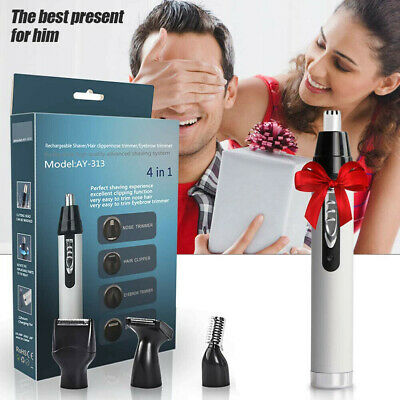 Micro Personal Washable Electric Nose Ear Hair Trimmer Clipper Shaver  Remover