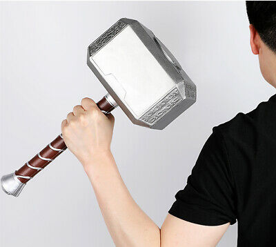 Mjolnir Thor's Hammer Cosplay Avengers Endgame Movie Marvel Copy Replica 1:1
