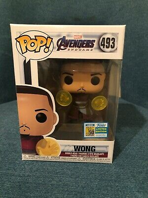 FUNKO POP! SDCC 2019 AVENGERS Exclusive ENDGAME WONG OFFICIAL STICKER - IN-HAND