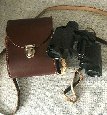CARL ZEISS Jena Jenoptem 8x30W binoculars in case Excellent condition. 4130848