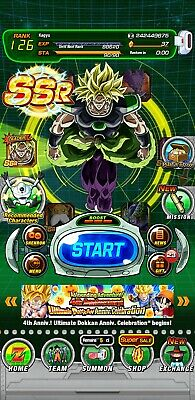 DRAGON BALL DOKKAN Battle Global Farmed 5 LRs + 700 stones