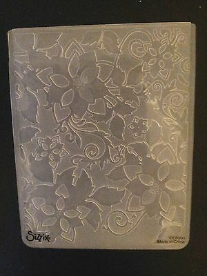 Sizzix Large Embossing Folder CHRISTMAS SANTA LUCIA SNOWFLAKES 4.5x5.75in