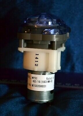 NEW Blue 24V Chemical Pump Hobart # 00-941638-00002 Welco WPX1-N3/16(183)M4-B