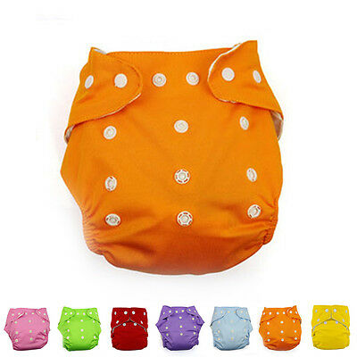 Adjustable Baby Infant Reusable Washable Cloth Diaper Kids Nappy Cover Diapers