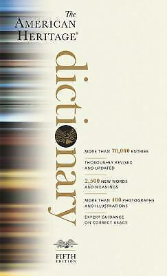 The American Heritage Dictionary: Fifth Edition by Houghton Mifflin Company