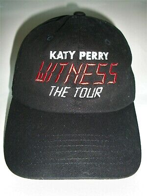 """New--Katy Perry"""" Witness"""" The Tour Vip Exclusive Adjustable Hat--Embroidered--"""