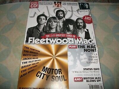 Mojo Magazine May 2019 ~ Fleetwood Mac ~ Joy Division ~ Motown ~ Cd