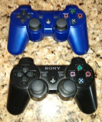 Sony Playstation 3 Dualshock 3 Sixaxis Wireless Controller Black
