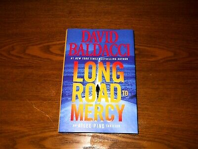 BRAND NEW~1st Edition! LONG ROAD TO MERCY~ Baldacci 2018~Hard Back  ATLEE PINE