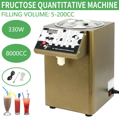 Bubble Tea Equipment Fructose Quantitative Machine Fructose Dispenser 110V 330W