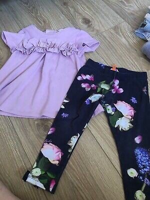 Girls Ted Baker Outfit Age 2-3 Years