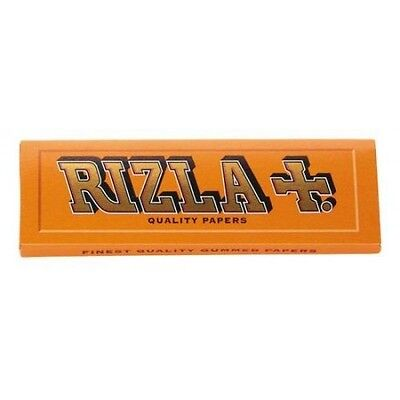 10  Booklets Rizla Orange Cigarette  Rolling Papers 600 Papers