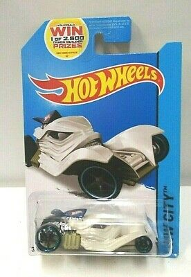 NEW in Package! BLUE /& CHROME Tomb Up Mummy Fright Cars 2014 Hot Wheels 78//250