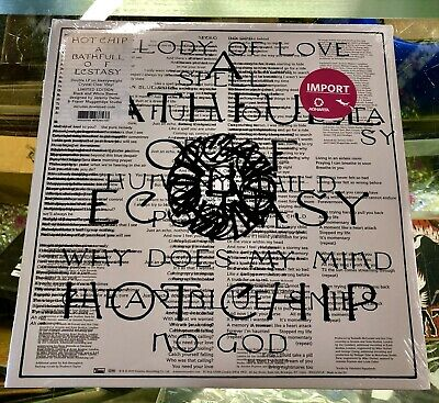 HOT CHIP- A Bathfull Of Ecstasy 2LP On Crystal Clear Vinyl Import