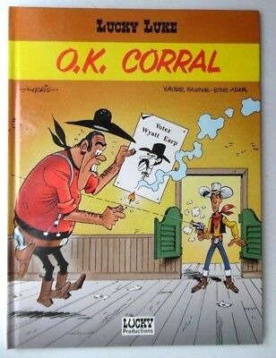 Lucky Luke O.k. Corral By Xavier Fauche Eric Adam Hb Book 1997