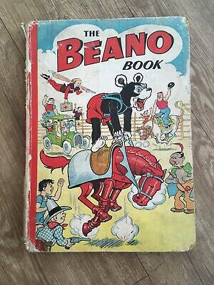 The Beano Book Annual 1951 Biffo on Metal Horse