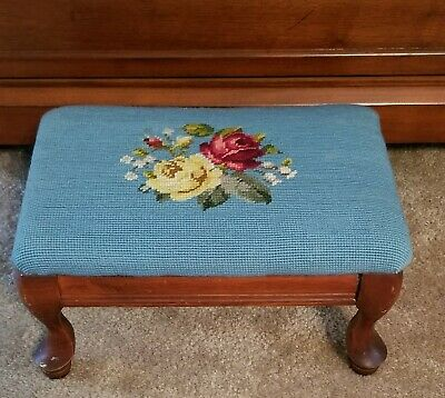 Admirable Antique Victorian Handmade Straw Filled Foot Stool Round Gamerscity Chair Design For Home Gamerscityorg
