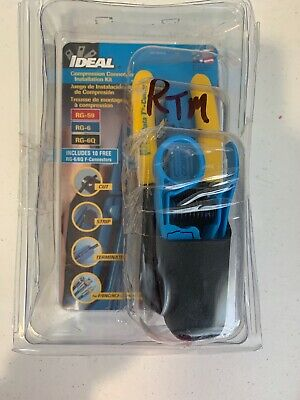 IDEAL Datacomm Tool Kit 33-622T Electrical Testers Tools