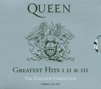 """Queen """"Greatest Hits I   II   &  III - The Platinum Collection"""" 3 CD Box Neu"""