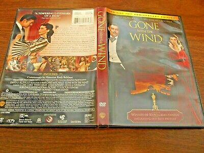 Gone with the Wind (Two Disc 70th Anniversary Edition), Excellent DVD, Clark Gab