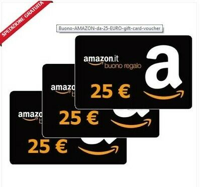 Buono Voucher Amazon Gift Card Da 25€ Euro