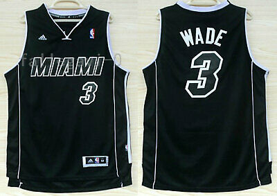 detailed look dab1d 4a26d BLACK CITY EDITION Miami Heat Dwyane Wade Jersey Shorts ...