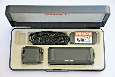 MINOX EC Camera, Amazing Very Clean Condition / In box with paper work.1981