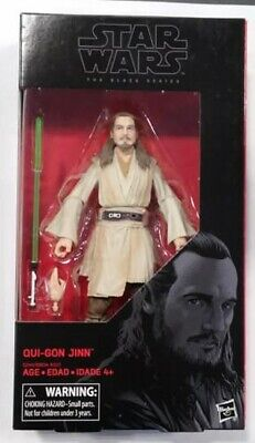Star Wars Black Series Qui-Gon Jinn figure (opener)