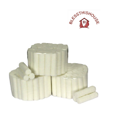 Dental Cotton Wool Rolls White Professional Size 1 Top Quality Pack 50 Free Post