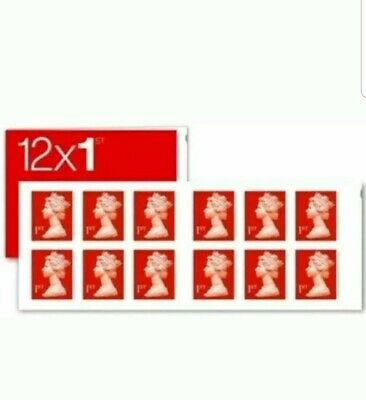 Royal Mail 1st Class Letter Self Adhesive Postage Stamps
