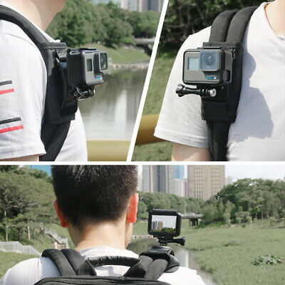 Sport Camera Backpack Clip for Gopro Hero7 6 5 Black Action Camera Accessories