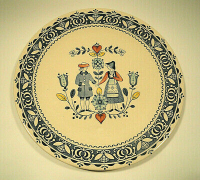 Johnson Brothers Ironstone Old Granite Hearts and Flowers Dinner Plate