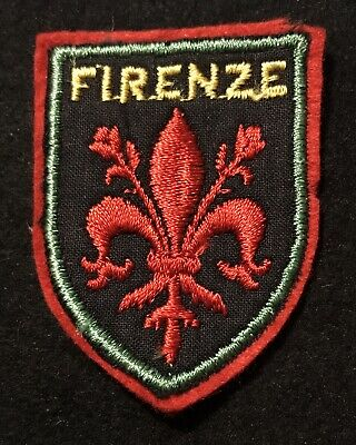 FIRENZE (Florence) Travel Patch Crest  Ecusson Tuscany ITALY Resort Souvenir
