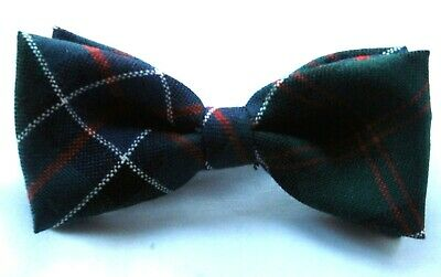 Bow Tie Tartan Sinclair Modern Hunting Worsted Wool Kilt Gents Made In Scotland