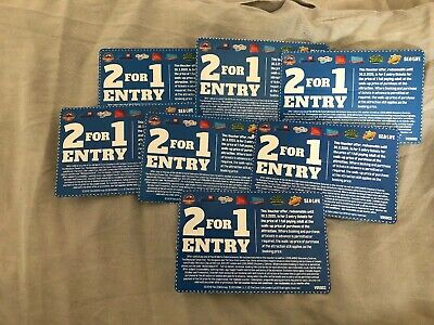 7x 2 For 1 Merlin Attraction Vouchers