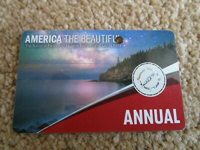 America The Beautiful National Park Annual pass, valid to end June 2020