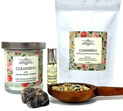 Cleansing Ritual Kit All Natural Purification Negativity Wiccan Pagan Conjure