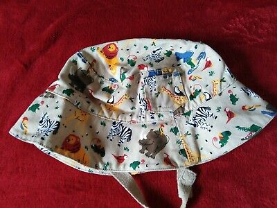 Jojo Mama Bebe Sunhat Jungle animal design 1-2 years