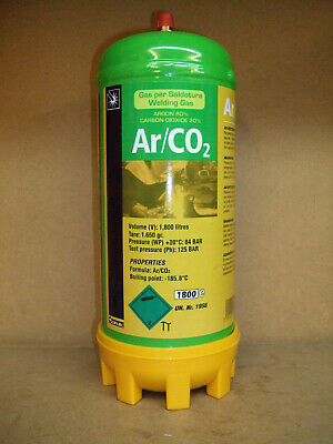 Argon/Co2 Mix Disposable Mig Welding Gas Maxxiline 1.8L