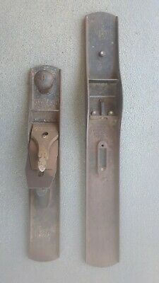 Vintage Stanley Bailey Wood Plane No.# 8 & #6 For Parts Or Repair
