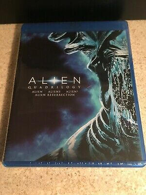 Alien Quadrilogy NEW - Blu-ray Includes ALIEN ALIENS ALIENS3 ALIEN RESURRECTION