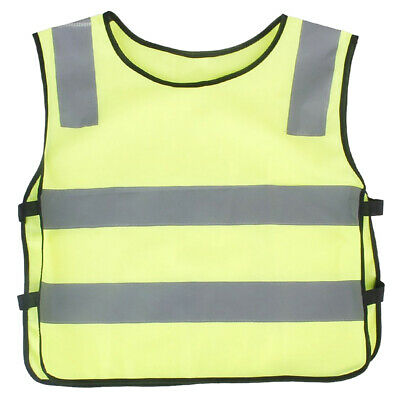 Child fluorescence reflective safety vest Yellow Y2S5